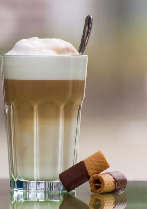 Koffie met vlaai